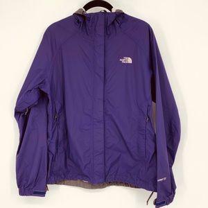 The North Face Rain Jacket Medium Womens Purple